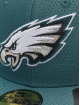 New Era Fitted Cap NFL Philadelphia Eagles Hex Era 59fifty grün