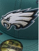New Era Fitted Cap 59Fifty Onfield 19 SL RD Philadelphia Eagles grün