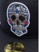 New Era Fitted Cap MLB Los Angeles Dodgers Sugar Skull 59Fifty modrá