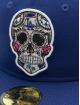 New Era Gorra plana MLB Los Angeles Dodgers Sugar Skull 59Fifty azul