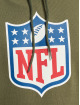 New Era Hoodie NFL Generic Logo Camo Wordmark PO olive