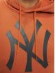 New Era Hoody Era MLB NY Yankees Seasonal Team Logo braun