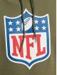 New Era Mikiny NFL Generic Logo Camo Wordmark PO olivová
