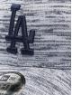 New Era Snapback MLB LA Dodgers Engineered Fit 9forty Snapback Cap šedá
