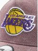 New Era Snapback Cap NBA LA Lakers Engineered Plus Aframe rosso