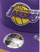 New Era Snapback Cap NBA Los Angeles Lakers Team Colour 9Fifty Stretch violet