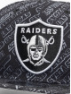 New Era Snapback Caps M 9Fifty Allover B6 Las Vegas Raiders musta