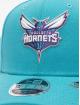 New Era Snapback Caps NBA Charlotte Hornets Team Stretch 9Fifty turkusowy