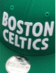 New Era Snapback NBA20 Boston Celtics City Alt EM 9Fifty zelená
