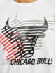 New Era T-Shirt NBA Chicago Bulls Logo Repeat blanc