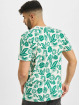 New Era T-Shirt MLB Los Angeles Dodgers Floral AOP blanc