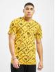 New Era T-Shirt NBA Logo All Teams gold colored