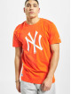 New Era T-Shirt MLB NY Yankees Seasonal Team Logo orange