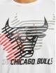 New Era T-shirt NBA Chicago Bulls Logo Repeat vit