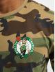 New Era T-Shirty NBA Boston Celtics Camo kolorowy