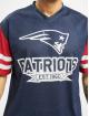 New Era T-Shirty NFL New England Patriots Contrast Sleeve Oversize niebieski