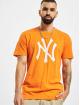 New Era T-Shirty MLB New York Yankees Seasonal Team Logo pomaranczowy