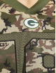 New Era T-skjorter NFL Green Bay Packers Camo Infill Oversized Mesh oliven