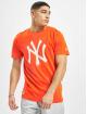 New Era T-skjorter MLB NY Yankees Seasonal Team Logo oransje