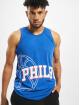 New Era Tank Tops NBA Philadelphia 76ers Basketball Graphic blau 0