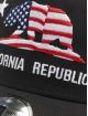 New Era Trucker Canvas Cali èierna