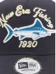 New Era trucker cap NE Fishing blauw