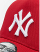 New Era Trucker Caps Clean NY Yankees czerwony
