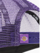 New Era Trucker Caps LA Lakers Retro Pack 9Forty AF fioletowy