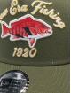 New Era Truckerkeps NE Fishing 9Forty oliv
