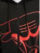 New Era Zip Hoodie NBA Chicago Bulls Enlarged Logo czarny