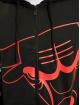 New Era Zip Hoodie NBA Chicago Bulls Enlarged Logo svart