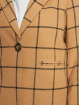 New Look Coats Window 23 Grid Check beige 4