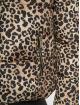 New Look Puffer Jacket Animal Print brown 4