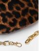 New Look Sac Libby Leopard Velvet Bum brun 4