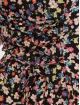 New Look Sukienki Chloe Floral Lattice Back czarny 4