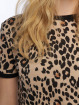 New Look T-paidat Leopard AOP ruskea 3