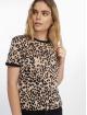 New Look t-shirt Leopard AOP bruin 0