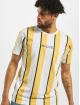 Nicce T-Shirt Stripe yellow