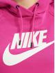 Nike Толстовка W Nsw Essntl Flc Gx красный
