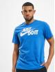 Nike Футболка Just Do It Swoosh синий