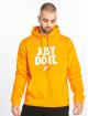 Nike Bluzy z kapturem JDI PO Fleece pomaranczowy