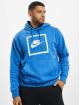 Nike Hoody Air 5 blau