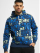 Nike Hoody Club BB blau