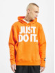 Nike Hoody JDI Fleece Mix orange