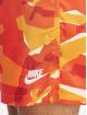 Nike Kąpielówki CE Camo Woven pomaranczowy 3