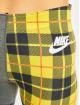 Nike Leggings/Treggings Plaid szary