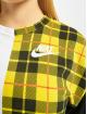 Nike Pullover Plaid weiß