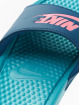 Nike Sandals Benassi JDI turquoise