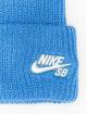 Nike SB Beanie Fisherman blau