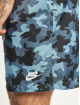 Nike Short Woven Flow Camo blue